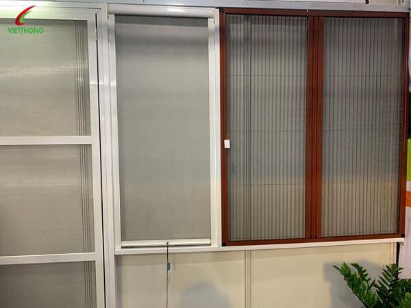 Cửa lưới xếp cửa sổ