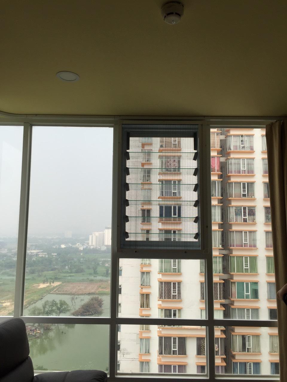 cửa lưới chống muỗi căn hộ chung cư