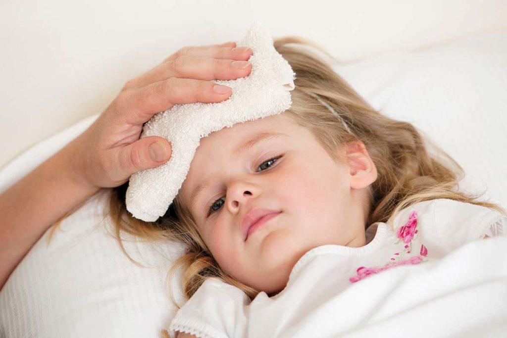 Triệu chứng bệnh sốt rét: Bị sốt